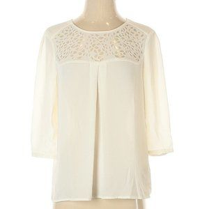 NWOT HD in Paris from Anthropologie White Blouse